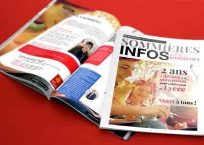 Charte graphique bulletin municipal – Mairie de Sommières