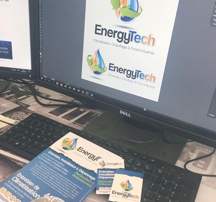 Charte Graphique & PAO – Energy'tech